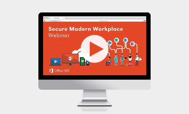Webcast Secure Modern Workplace