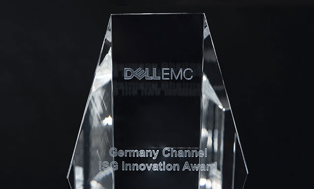 Dell EMC – Germany Channel ISG Innovation Award verliehen auf dem Dell EMC Tech Summit in Madrid