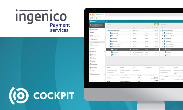 Reference customer: Ingenico Payment Services relies on  CIO Cockpit.